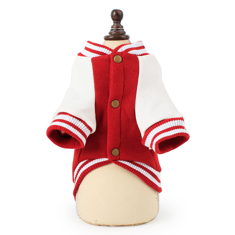 Dog Hoodie Sweatshirt for Teddy Puppy Clothes Thicken Two-foot Sweater for Small Pet Dog Autumn Winter Warm Pet Dog Clothes