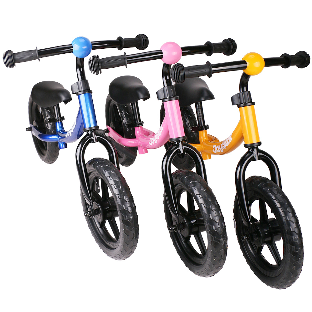 10&12 Inch Balance Bike Ultralight Kids Riding Bicycle 1-3 Years Learn to Ride Sports on Toys Child