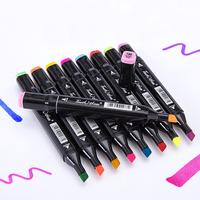 Touchnew 30 40 60 80 Colors Artist Design Double Head Marker Set Quality Sketch Markers For