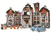 New Compatible Legoings Batman DC Comics Arkham Asylum Super Heroes Building Blocks Bricks Toys for children Marvel City Gifts