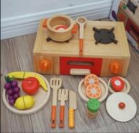 Высокое качество, игровой набор с фруктами Кухня игрушки для маленьких детей для внутреннего игры, игрушки подарок