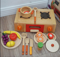High quality Pretend Play set with fruit Kitchen Toys for baby kids for indoor playing game toys gift