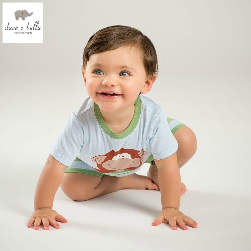 DB5193 dave bella summer baby boys clothing sets five
