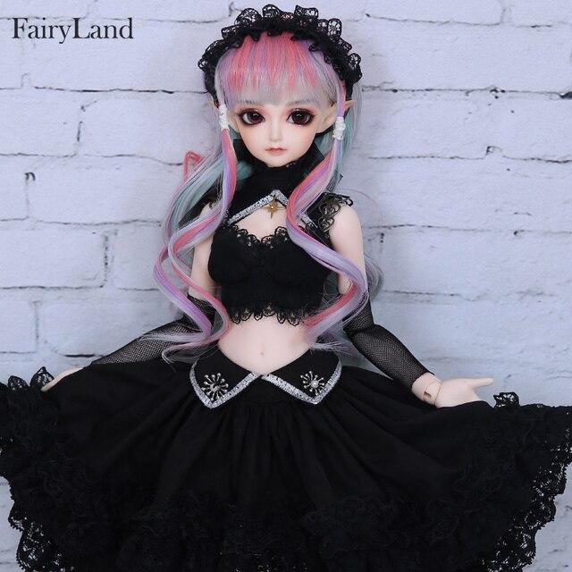 Free Shipping Minifee Eliya BJD Doll 1/4 Elf Girl Flexible Resin Figure Fullset Option Toy For Girl Fantastic Gift Fairyland 4