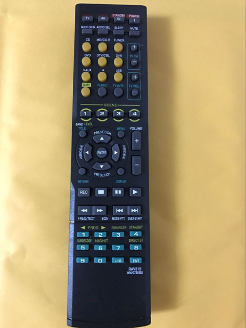 Yamaha Rav315 Remote Control Rav 315 Rx V461 Wk22730eu Htr