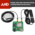 3 Г WCDMA модуля SIM5320e с GPS evb комплект, 900 2100 МГц, SIM5320E комплекты, 2 Г/3 Г Беспроводной маршрутизатор с gps