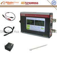 English Version NEW Black GK101 Color LCD Touch Screen DDS Arbitrary Waveform Generator Function Signal Generator