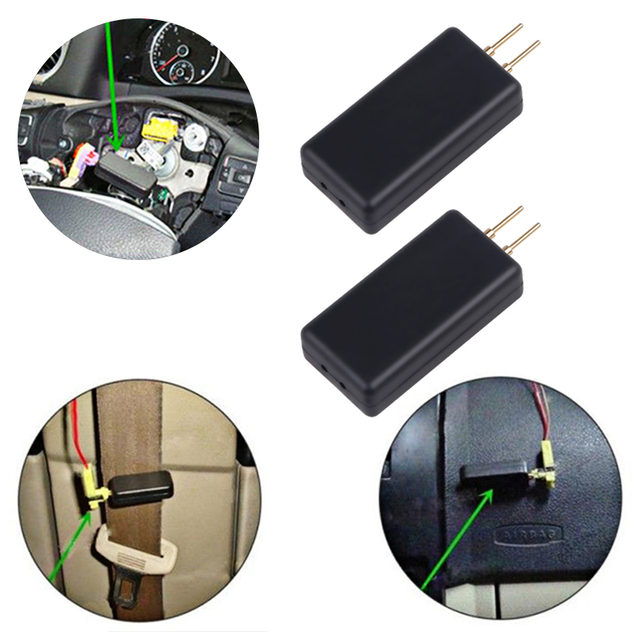 2 or 4 PCS Airbag SRS system car airbag inspection tool instead of airbag repair seat belt side air curtain internal resistance