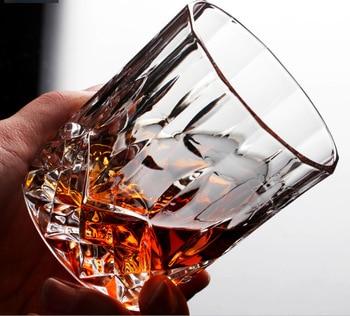 1Pcs Whiskey Wine Glass Lead-free High Capacity Beer Glass Wine Cup Bar Hotel Drinkware Brand Vaso Copos beer steins