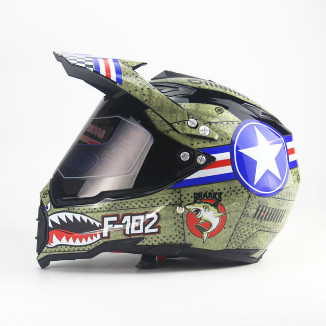 Us 45 0 Motorcycle Motocross Motorbike Helmet Full Face Helmets Casco Capacete Casque Moto Off Road Atv Dirt Downhill Mtb Dh Racing In Helmets From
