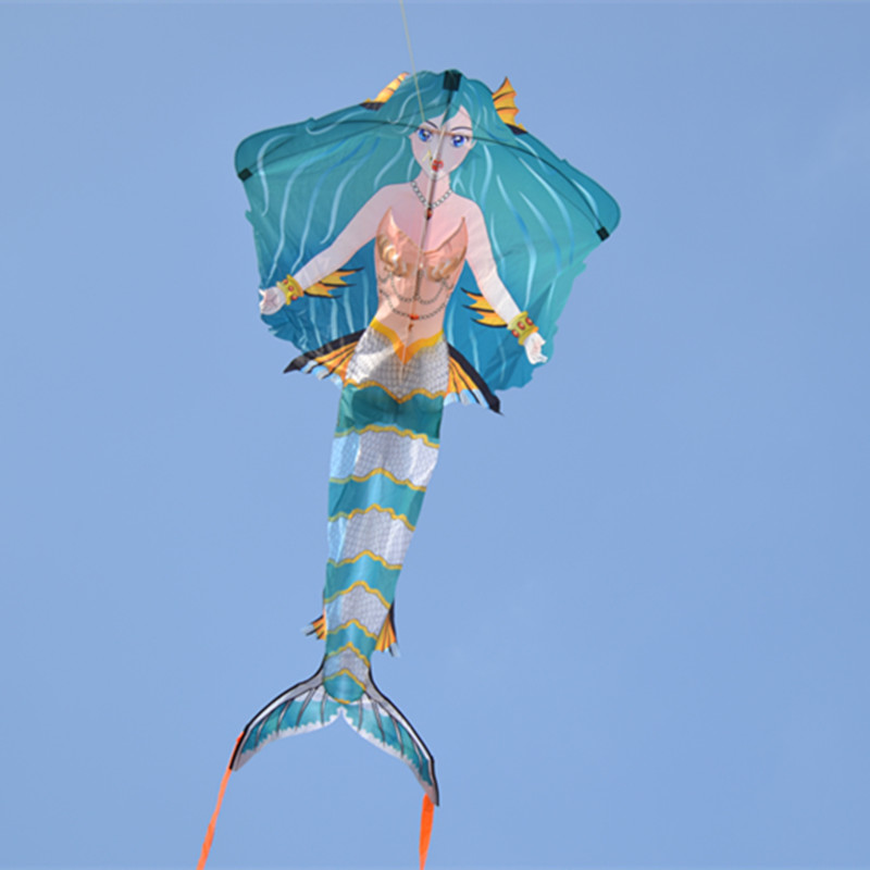 Dyna-Living Black 3D Cartoon Whale Software Kite Single Line,Gift for Boys Girls Family