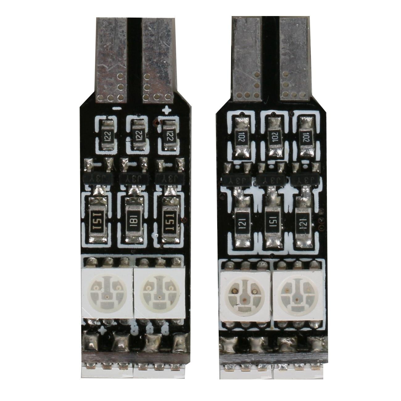 5050 T10 6-SMD LED Bulbs High Power, LED Car Interior,Dashboard Number Plate,Boot Light Lamp 12V