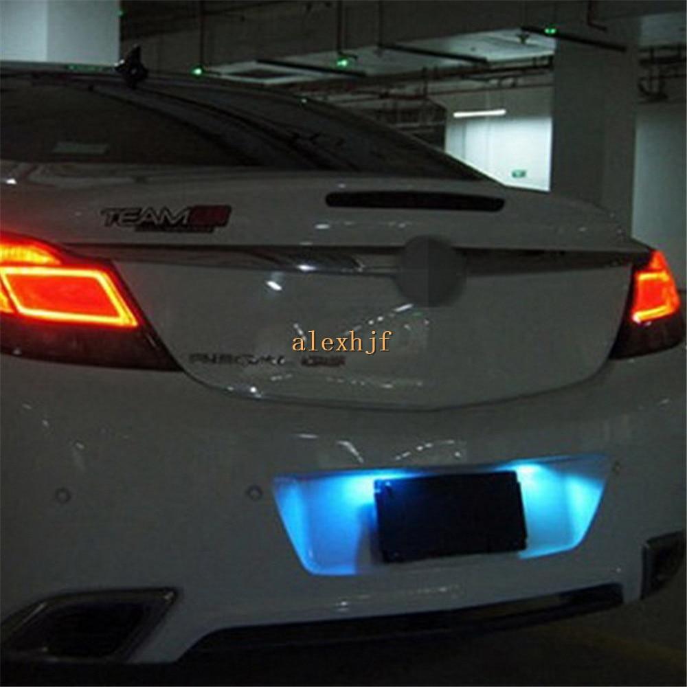 July King 4Pcs 12LEDs T10 Ice Blue LED License Plate Lights Case for Chevrolet Cruze Malibu Regal GS LaCrosse Encore Verano etc. бутылка 0 4 л asobu ice t 2 go фиолетовая it2go violet