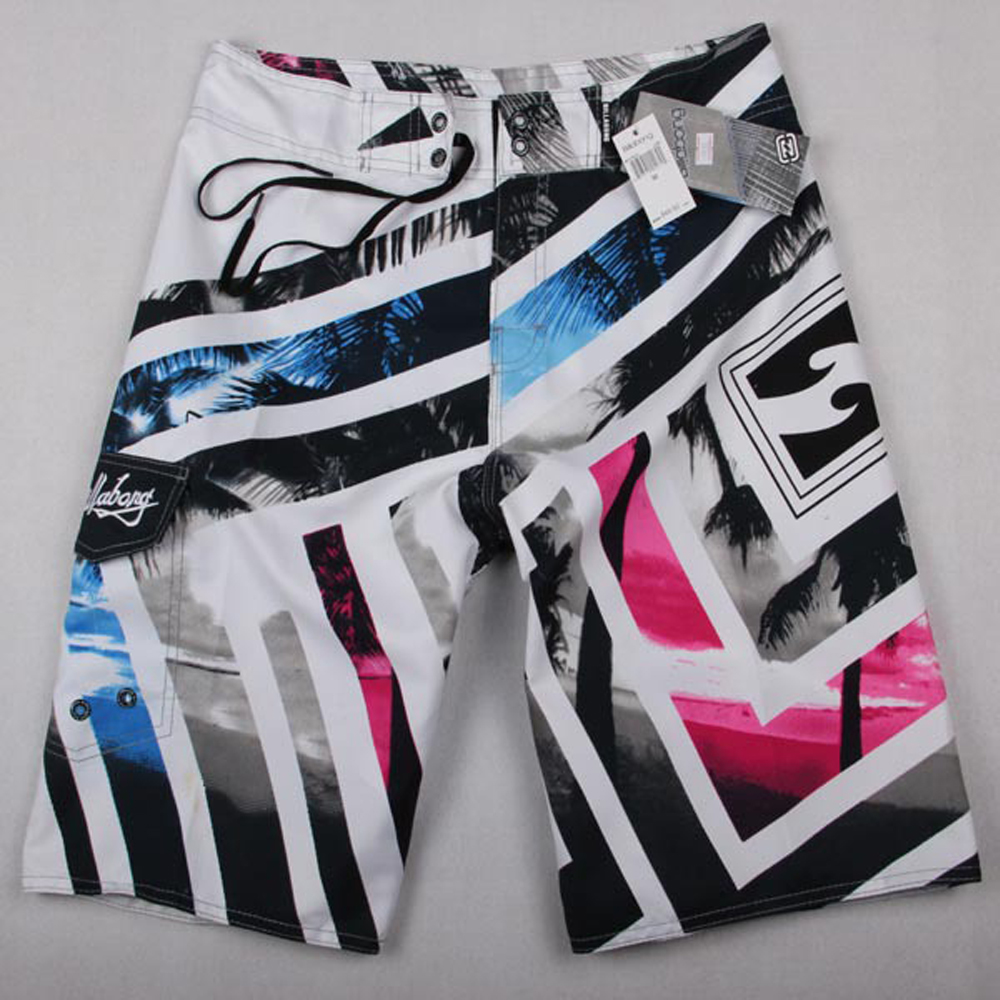 Men Summer Casual Shorts Men Brand New Board Shorts 2019 WaterProof Beach Breathable Elastic Waist Fashion Casual Short Male in Board Shorts from Men 39 s Clothing