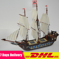 DHL IN Stock LEPIN 22001 Pirate Ship Imperial Warships Model Building Kits Block Briks Toys Gift