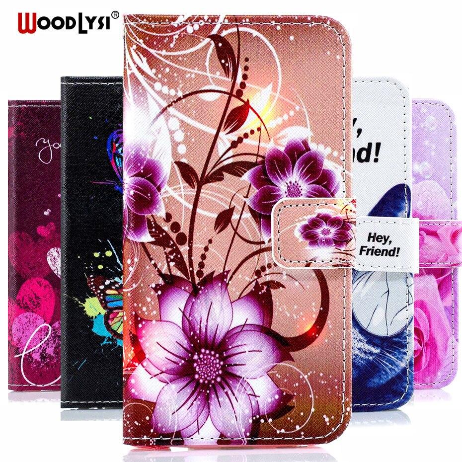 Redmi GO Luxury Painted Flip Case for Xiaomi CC9 CC9E Wallet PU Leather RedmiGO Cover