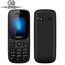 Original Lingwin N1 Russian keyboard mobile Phone 1.77 inch GSM Dual SIM Cell Phones Seniors Elderly MP3 Flashlight Telephones