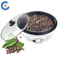 Máquina de torrefação de grãos de café torrador elétrico fabricante de frutas secas amendoim não stick do revestimento cozimento secagem de ferramenta do agregado familiar 220 V|Torrefadoras de café| |  -
