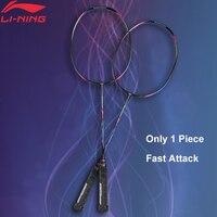 Li Ning Turbo Charging 9IITF(Turbo Charging 20)Professional Badminton Racket Single Racket LiNing Racket AYPM324(AYPM436) ZYF246