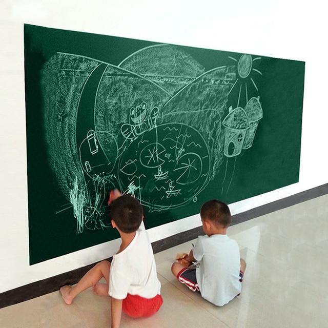 Décoration créatif Tableau Noir Autocollant Mural pour Enfants ...