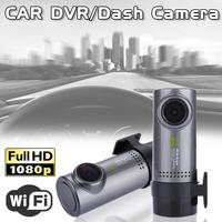 1080 Mini HD Car DVR Degrees Rotation WIFI Connection Data Car Tachograph Recorder Digital Video Recorder