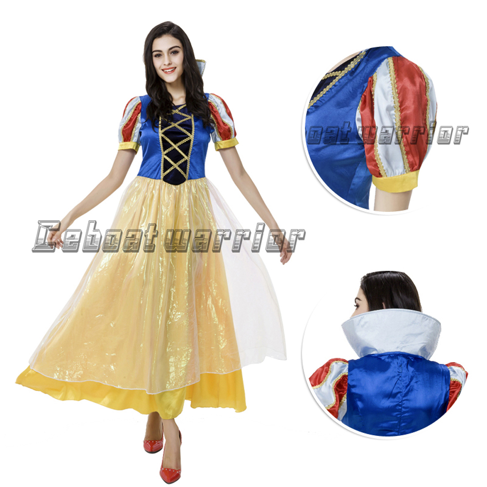 Snow White cosplay costume Princess Snow White dress for girl