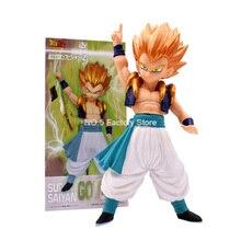 купить 17cm Anime Dragon Ball Z Super Saiyan Gotenks Standing Style PVC Action Figure DBZ Goten Trunks Goku Collection Model Toys по цене 725.96 рублей