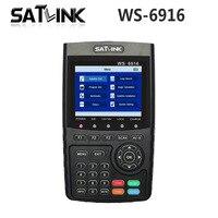 [Genuine] Satlink WS 6916 HD DVB S2 High Definition Satellite Finder Satellite meter MPEG 2/MPEG 4 Satlink WS 6916 Sat link 6916