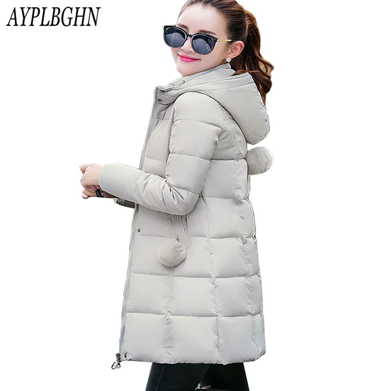 high quality Winter Jacket Women Hooded Thick Coat Female Fashion Warm Outwear Down Cotton-Padded Long Wadded Jacket Coat Parka lstu winter jacket women 2017 fashion cotton padded hooded jacket female wadded jacket outerwear winter coat women