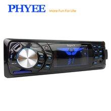 Широкий ЖК-дисплей 1 Din в тире Bluetooth автомагнитолы MP3 USB стерео аудио Системы WMA ID3 FM многоцветная подсветка SX-33000BY