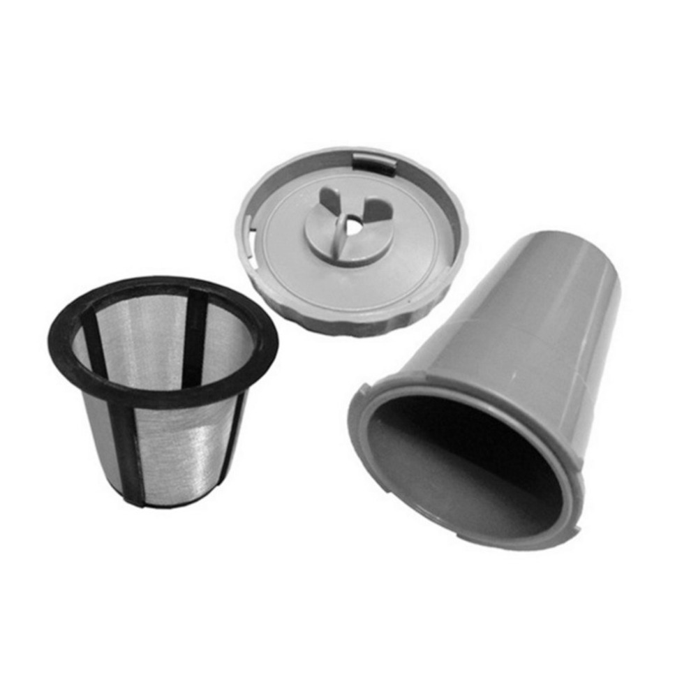 Durable Coffee Pod Filter Compatible With For Keurig Coffee Machine Reusable Coffee Capsule Filter Portable Coffee Strainer soft water filter delongi coffee machine spares spare parts for delft coffee machines