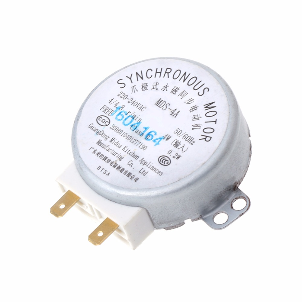 MEXI 5CM 220-240V Microwave Oven Tray Synchronous Motor For Microwave Oven Engine Parts promotion microwave oven turntable synchronous motor cw ccw 4w 5 6rpm ac 220 240v