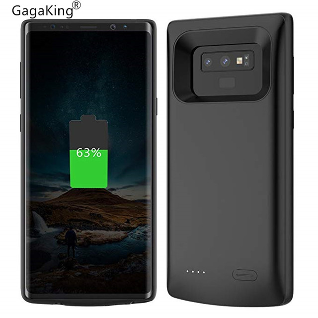 UL 5000/5500 mAh Caixa de Bateria Para Galaxy Note 8 9 Power Bank de Carregamento Para Samsung Galaxy Note 9 Carregador de bateria Da Tampa Do Caso