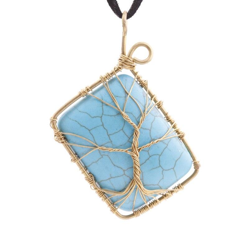 Sunstone Tree of Life Pendant Raw Copper Wire Wrapped Sunstone ...
