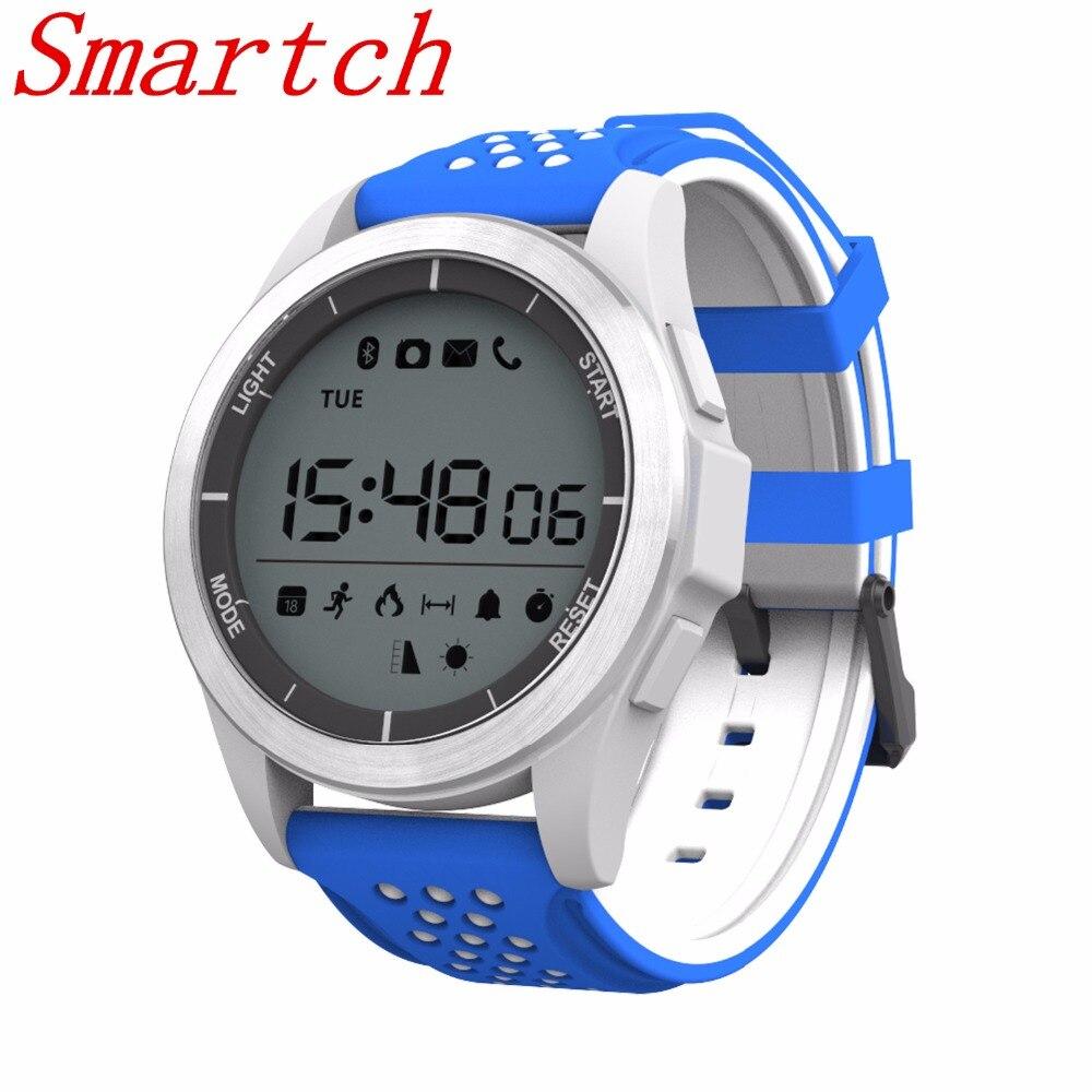 Smartch NO. 1 F3 Smart Uhr Armband IP68 Wasserdichte Wandersport Smartwatch Fitness Tracker Wearable Geräte Für Android iOS