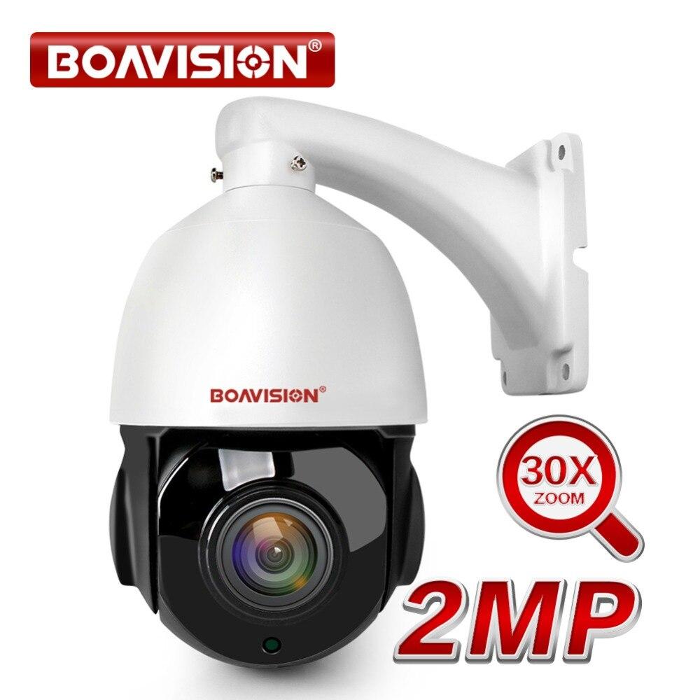30X Zoom HD 1080 P PTZ IP Caméra Extérieure vision nocturne IR 50 M 4 Pouces Mini Speed Dome IP caméra PTZ CCTV caméras de sécurité Onvif