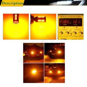 Image 5 - 2X Đèn Led Xe Hơi Ô Tô Bóng Đèn Xi Nhan CANBUS Không Lỗi Hyper Đèn Flash LED Tín Hiệu Hổ Phách Màu Cam 1156 BA15S P21W BAU15S PY21W T20 7440 W21W WY21W 3156