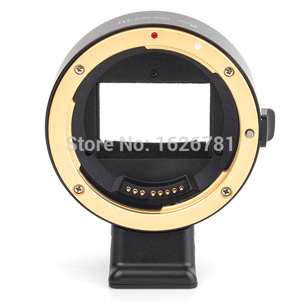 NEWEST ! 3rd autofocus AF confirm lens adapter suit for Canon EF to Sony E MOUNT camera A7 A7R NEX 5T 3N 6 5R F3 7 5C C3 5 VG10