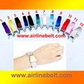 Бесплатная доставка топ-уникальный самолет самолет авиакомпании мини ремень пряжка браслет для человека и леди