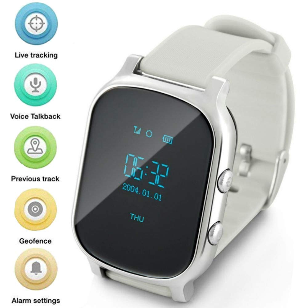 Wonlex GW700 Smart Watch Phone GPS Tracker With Anti Lost SOS Call Location Finder Pedometer GPS APP Watch For Kids Seniors