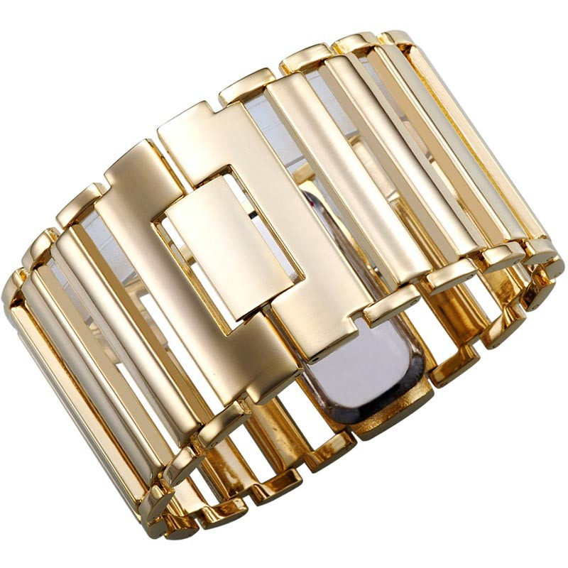 Högkvalitativ 2018 New Fashion Women Dress Klockor Ladies Gold Watch - Damklockor - Foto 3