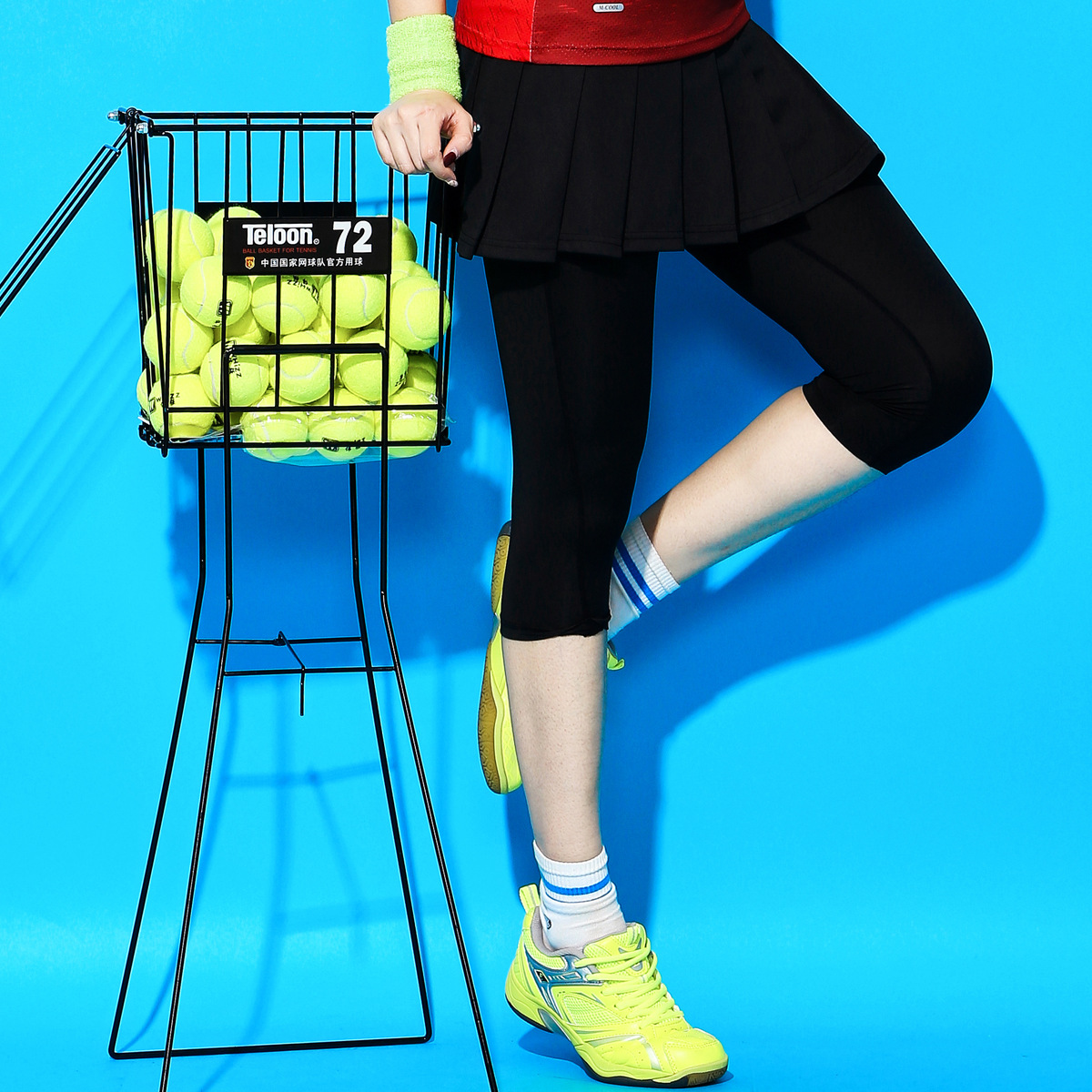 Yoga Tischtennis Kleidung Plus Größe Badminton Tragen Rock Hosen frauen Sport Rock Schnell trocknend Kalb-Länge hosen