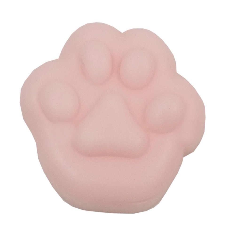 Симпатичные Mochi Антистресс мяч мини сжимающиеся болотного цвета кот милый каваи кукла игрушка-пищалка животное для снятия стресса детские игрушки для взрослых
