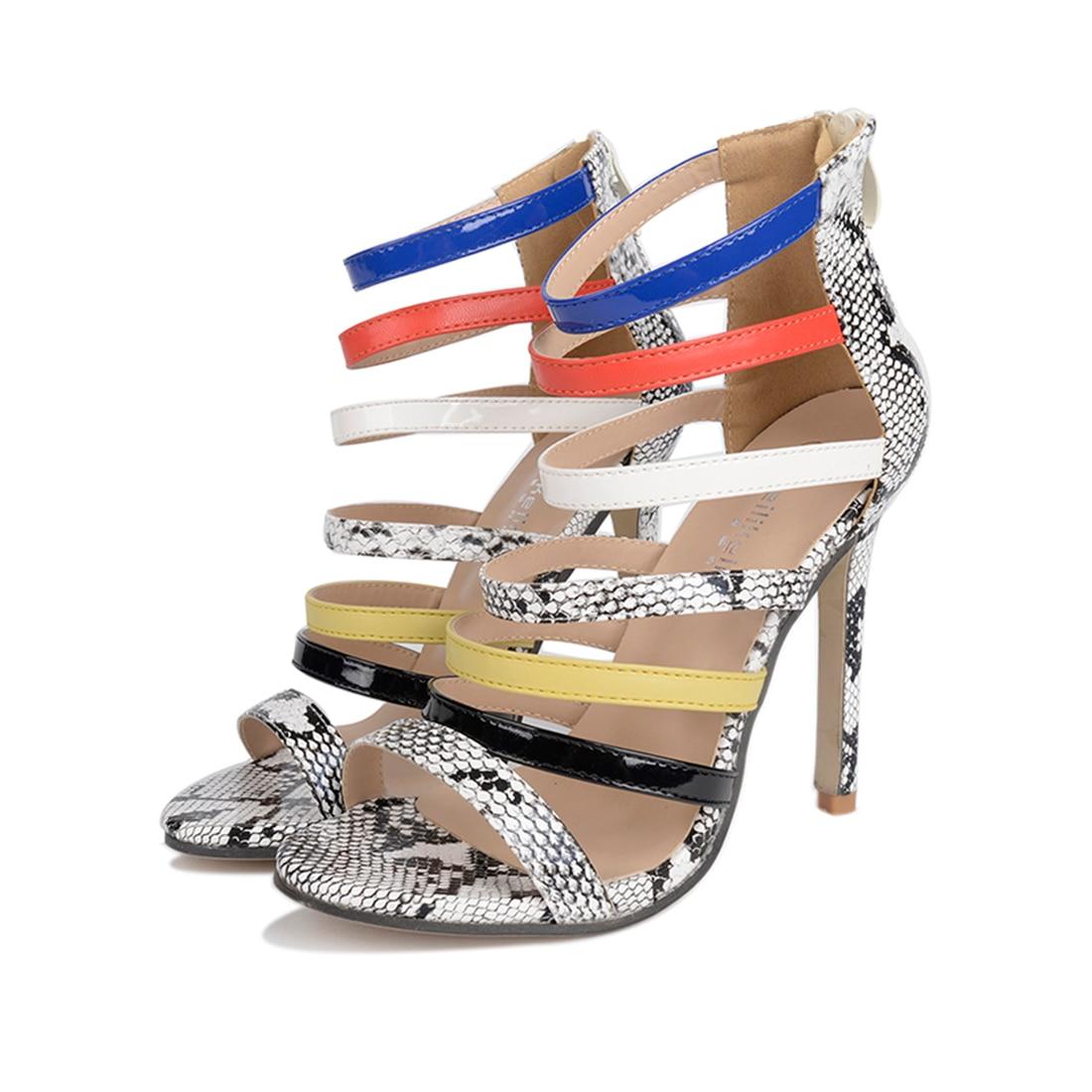 European sandals shoes - Summer Women Sandals Open Toe Flip Flops Women S Sandals Thick Heel European Gladiator Sandals Shoes Platform
