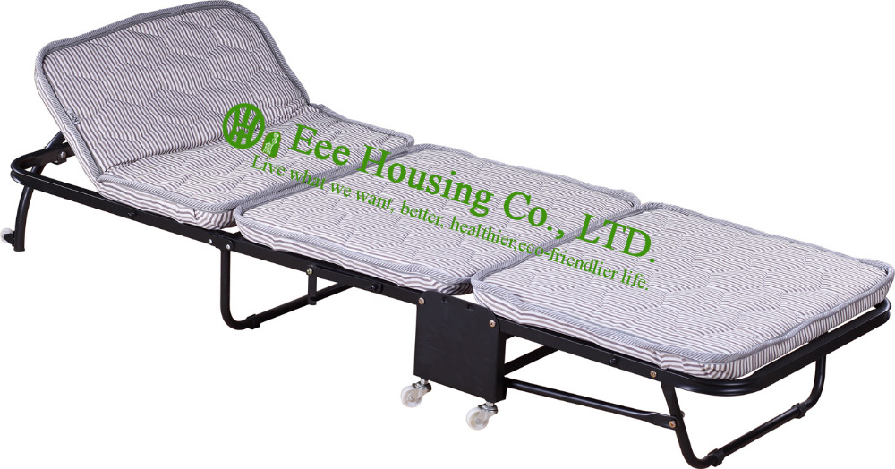 Camping/Guestroom/Hotel/Office/Foldable Bed/Cheap Folding Bed,Three Folding Bed Office Lunch Break To Save Space