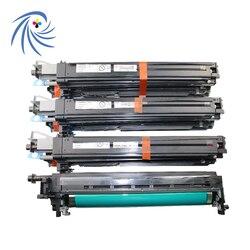Jeden zestaw KCMY oryginalne testowany regenerowany pojemnik C452 bębna obrazowego dla Konica Minolta Bizhub C552 C652 C652ds IU612 452 652 552