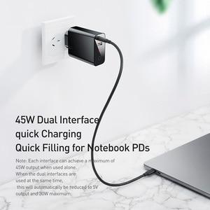 Image 4 - Baseus Quick Charge 4,0 3,0 USB зарядное устройство для iPhone 11 Pro Max Samsung Huawei мобильный телефон QC4.0 QC3.0 QC Type C PD быстрое зарядное устройство