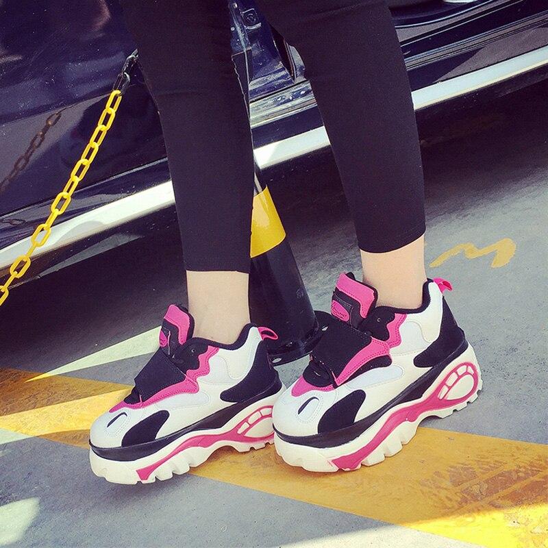 Loto Jolly 2017 Harajuku zapatos de Las Mujeres Pisos zapatillas deportivas muje