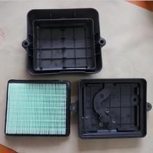 GX100 воздушный фильтр в сборе подходит для HONDA GX100U 3HP 4 тактный двигатель корпус OUTERSIDE внутренняя Чехлы воздухоочиститель сборка тромбовочный виброкаток запчасти