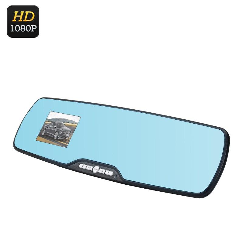 imágenes para Full HD Espejo Retrovisor DVR de 1080 P, 120 Grados de Vista, 2.7 Pulgadas de Pantalla, G-sensor, motion detección, Grabación en bucle